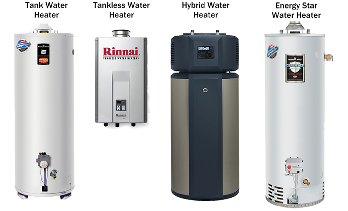 tankless heaters and hot water heaters